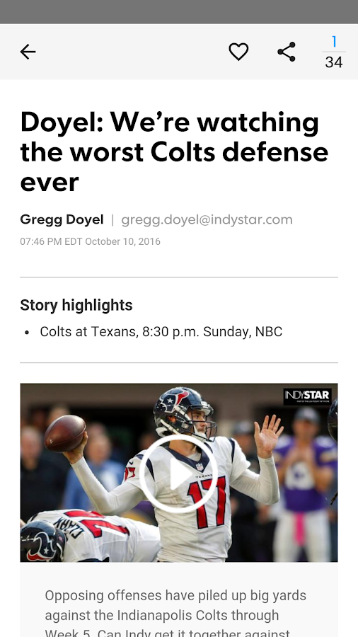 IndyStar Doyel Direct- screenshot