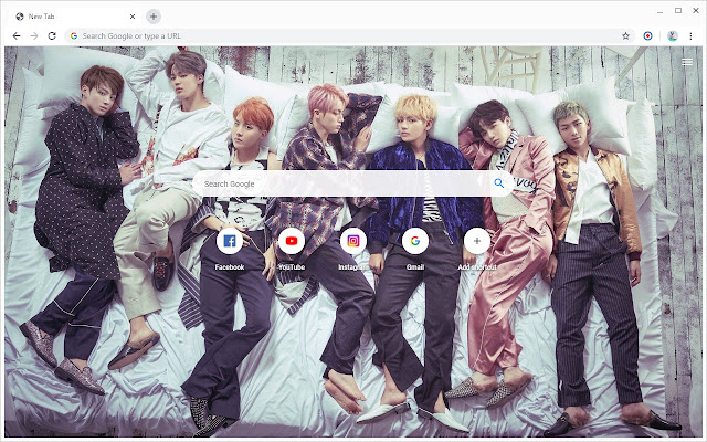 BTS Wallpapers New Tab