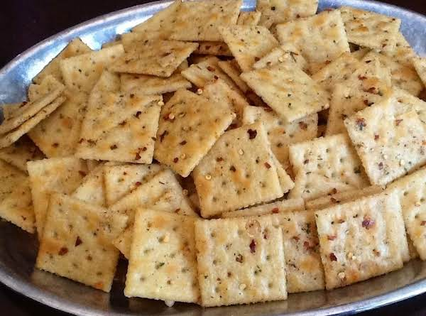 These Crackers Are Wonderful Eaten Alone Or With Anything.