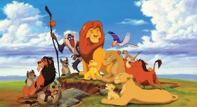 """Photo: Os personagens da animação """"O Rei Leão""""."""