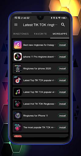 The latest TIK TOK popular ringtones download screenshot 4