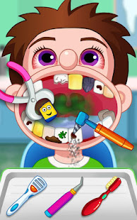 Crazy Children's Dentist Simulation Fun Adventure poster