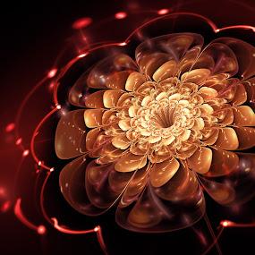 Sacred blossom by Artem Kevorkov - Illustration Abstract & Patterns