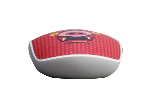 Chuột máy tính Rapoo M200 Silent Wireless không dây (Đỏ)-4