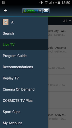 COSMOTE TV GO app (apk) free download for Android/PC/Windows