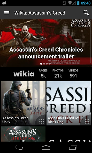 Wikia: Assassins Creed