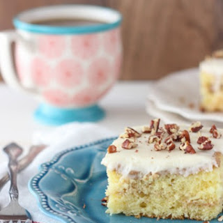 Cinnamon Coffee Cake Poke Cake