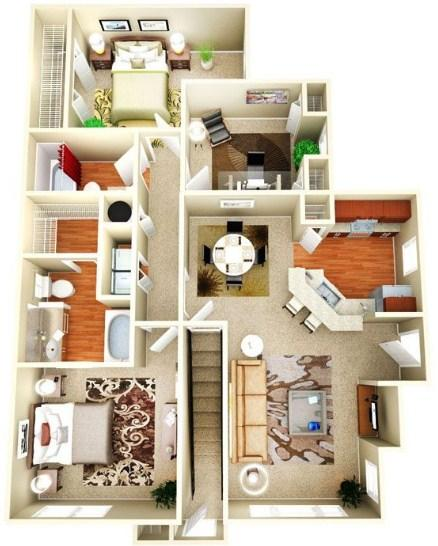 Big house plan 3d android apps on google play for 6 bedroom house designs 3d