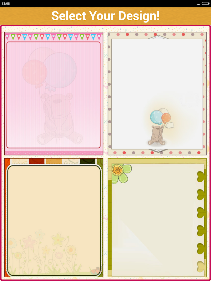 Birthday Invitation Card Maker Android Apps on Google Play – Software for Making Cards and Invitations