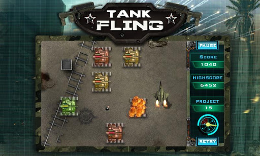Tank Fling Game 1.1 screenshots 4