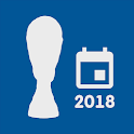 Schedule for World Cup 2018 Russia icon