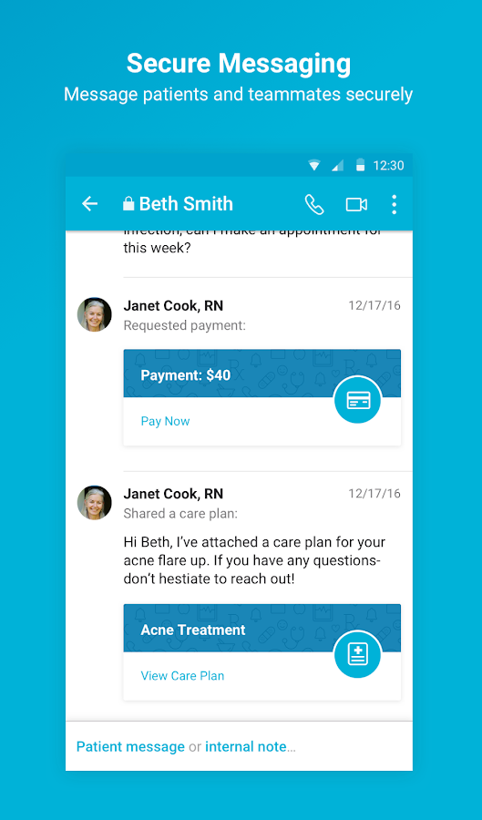 Spruce - Care Messenger- screenshot