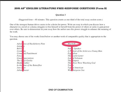 English Literature Macbeth Review Questions And Answers