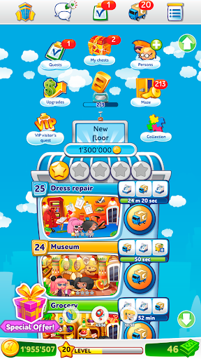 Pocket Tower: Building Game & Megapolis Kings apkdebit screenshots 5