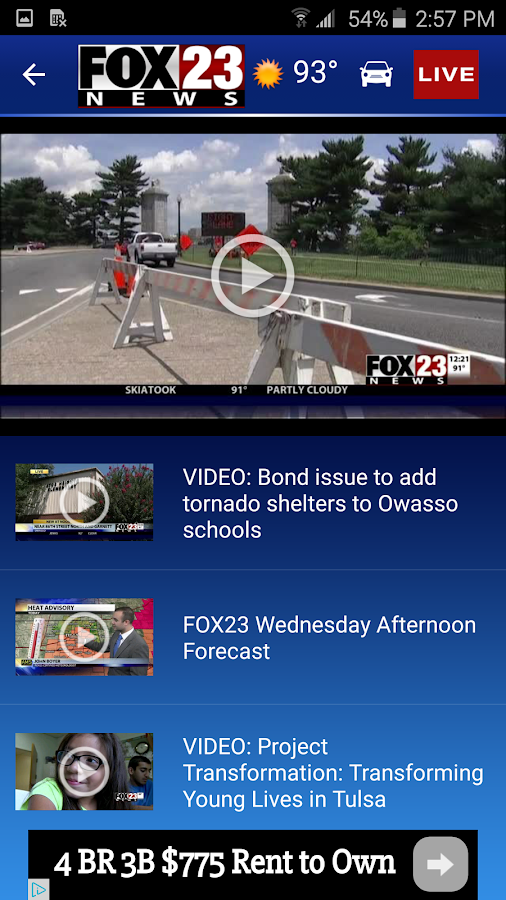 FOX23 News- screenshot