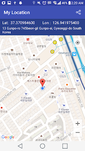 My Location - náhled