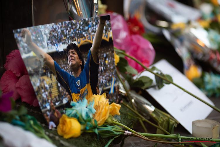 La lettre d'adieu de Didier Drogba à Maradona