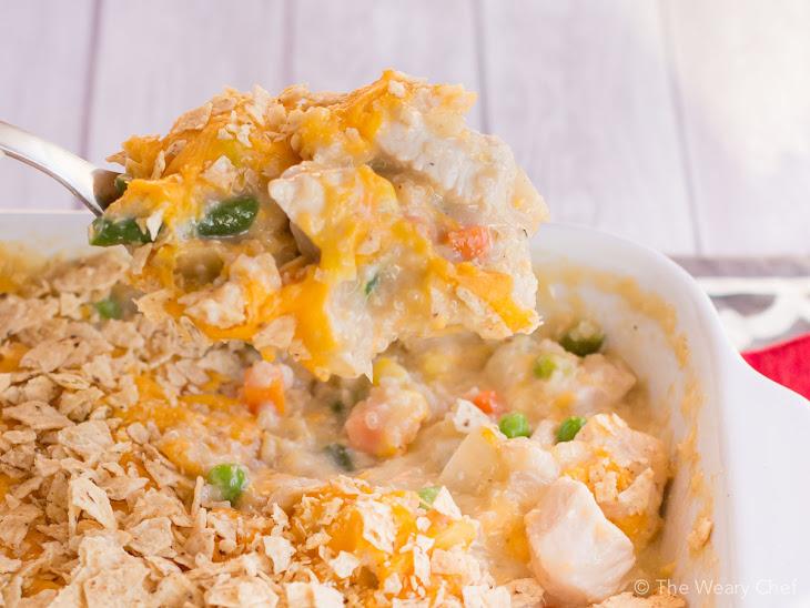 Chicken and Vegetable Quinoa Casserole Recipe | Yummly