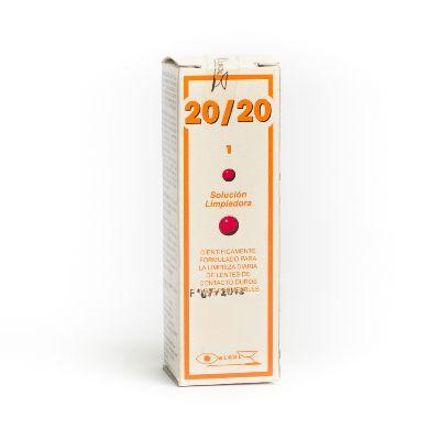 solución limpiadora para lentes 20/20 30 ml