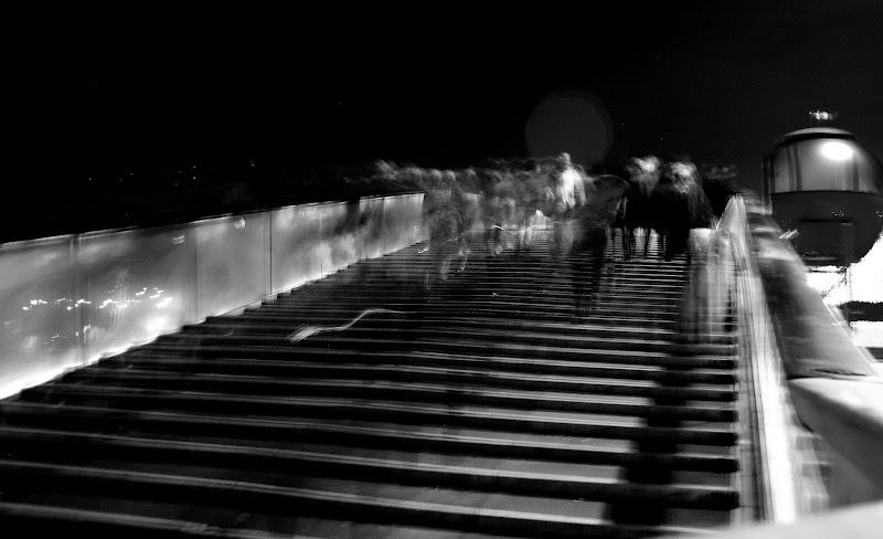 Passeggio sul ponte di Calatrava di Andrea F