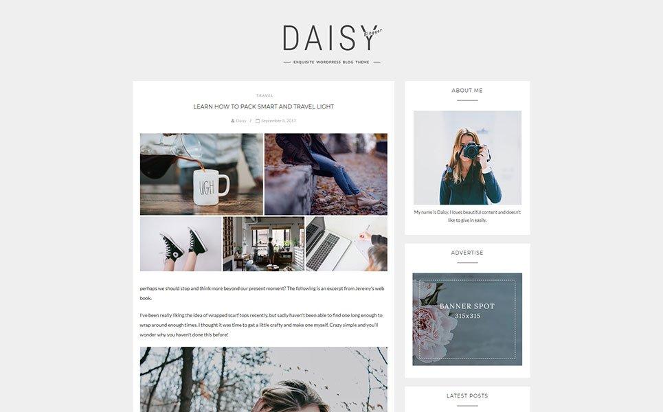 Fastest WordPress themes - Daisy