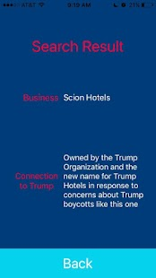 Boycott Trump- screenshot thumbnail