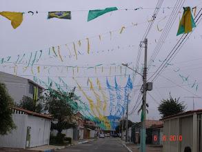 Photo: Nossa rua pronta para o HEXA.