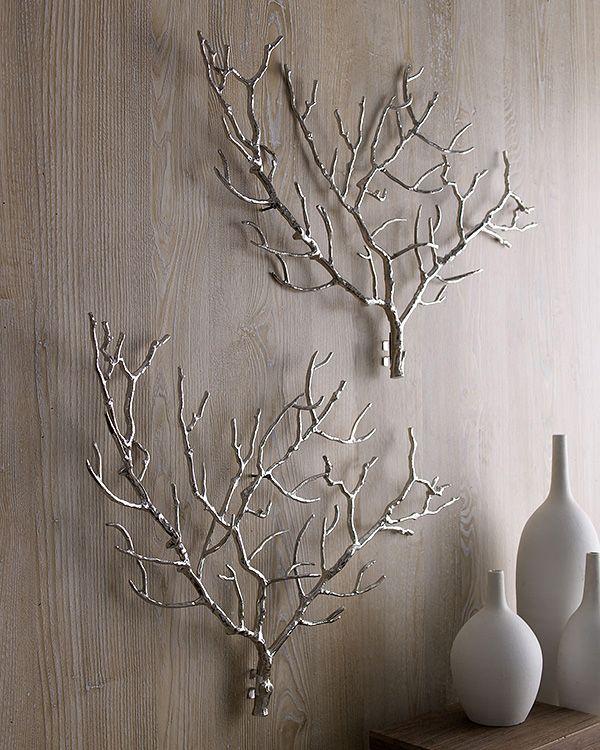 DIY Tree Branches Wall Decor