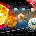 Solar System 3D : Space View Planets icon
