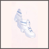 もこもこ靴