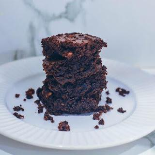 Gluten-free Hazelnut Brownies.