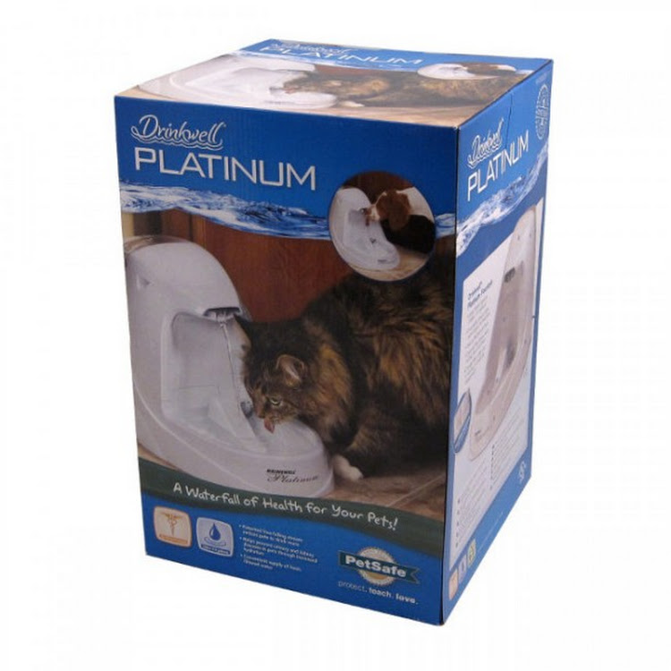 Drinkwell Platinum Pet Drinking Fountain By Pets Manic