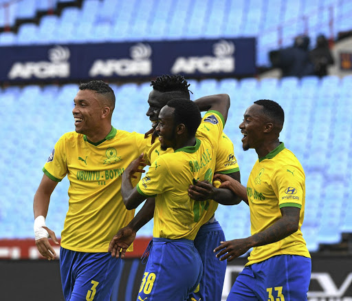 Ruthless Sundowns crush 10-man Algerian side CR Belouizdad 5-1