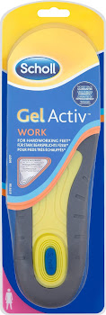 Scholl Gel Active Work For Women Insoles