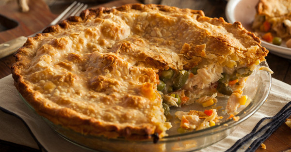 Classic Chicken Pot Pie Recipe | Yummly