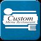 Custom Restaurant Menu Android apk