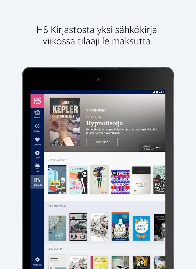 Helsingin Sanomat- screenshot