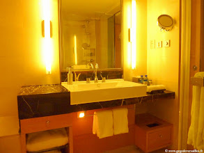 Photo: #007-La salle de bain de l'hôtel Hilton Beijing