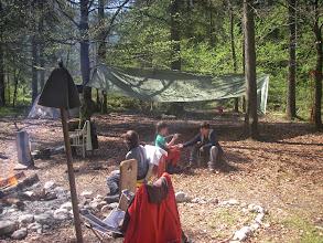 Photo: Sonne im Camp