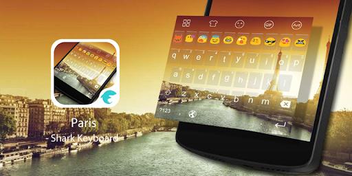 Emoji Keyboard-Sunny Paris