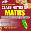 Rakesh Yadav Math Class Notes in Hindi icon