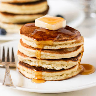 Healthy Low Carb Coconut Flour Pancakes.