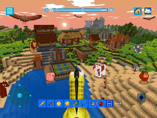 Terra Craft: Build Your Dream Block World modavailable screenshots 10