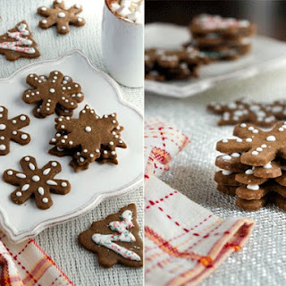 Pecan Spice Gingerbread Cookies