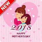 Happy mother's day 2018 icon
