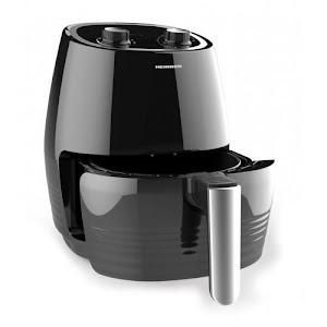 Friteuza cu aer cald, Heinner, 1250W, timer, termostat, 2.5 L