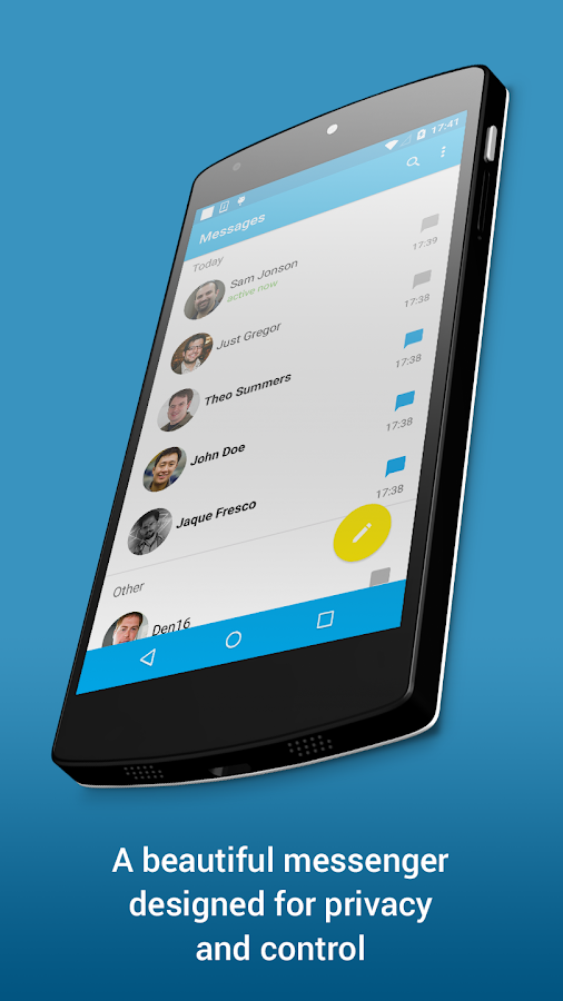 Ansa Messenger- screenshot