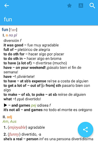 Dictionary English<>Spanish for PC