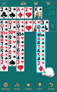 Klondike Solitaire: Kingdom- screenshot thumbnail