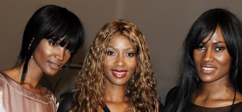 Photo: Millen Magese, Nancy Nwadire and Ojy Okpe